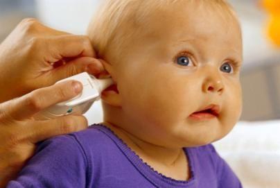 Low-Grade Fever Baby