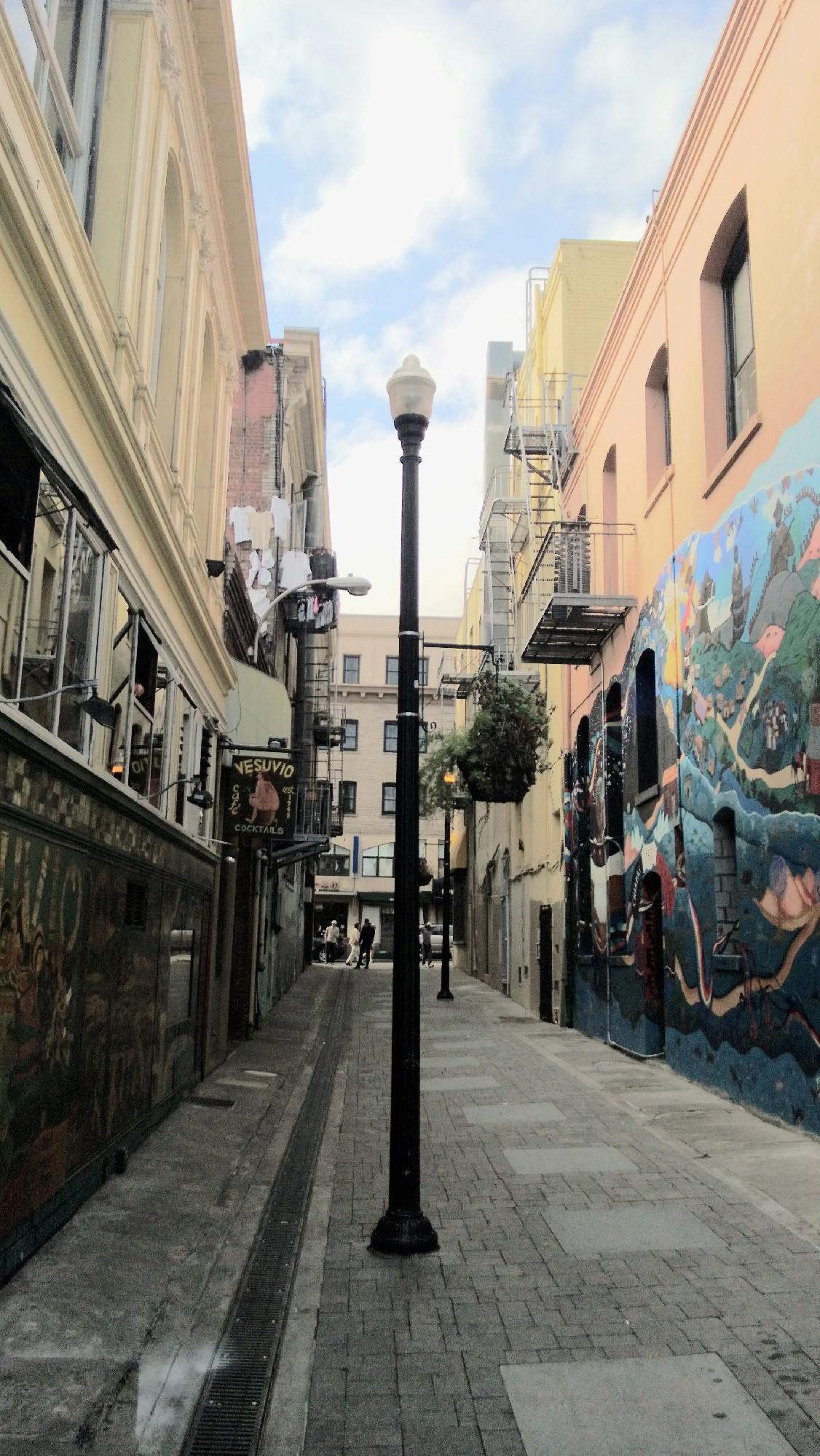 Kerouac Alley 1